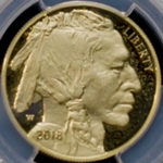 Proof Gold American Buffalo Coins (PCGS Certified)