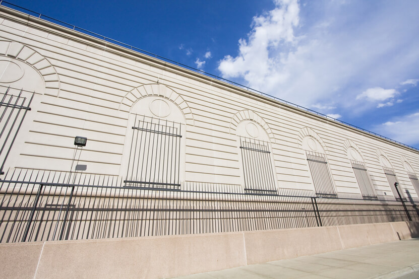 Exterior view of Denver Mint