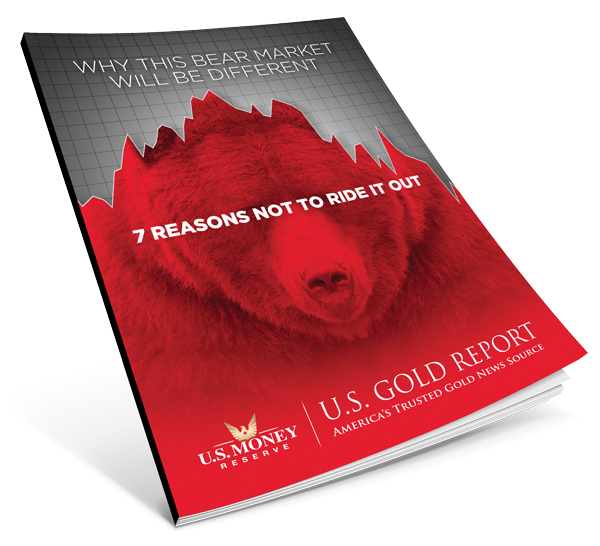 why this bear market will be different book with red bear market image