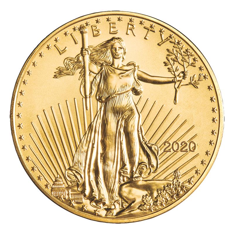 1 10 Oz Gold American Eagle Coin