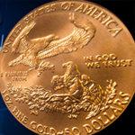 Burnished Gold American Eagle W