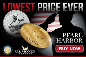Lowest Price Ever on Pearl Harbor Gold and Silver Coins