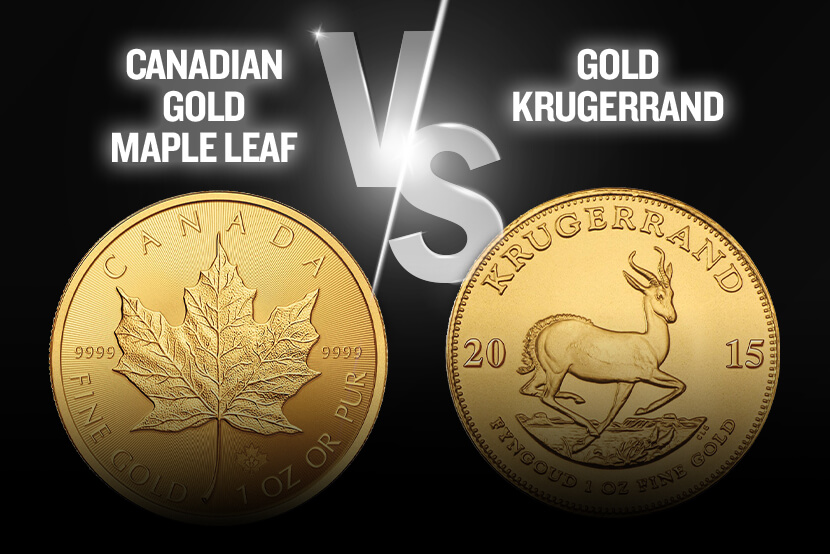 Canadian Gold Maple Leaf Coin vs Gold Krugerrand