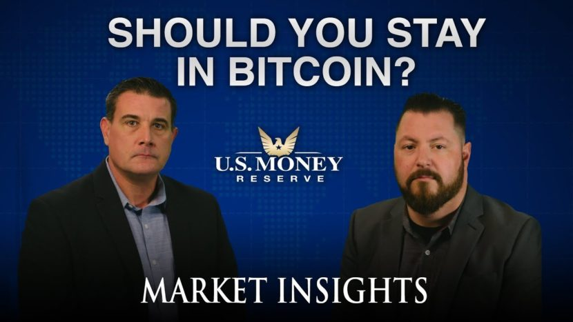 patrick brunson presenting market insights on staying in bitcoin