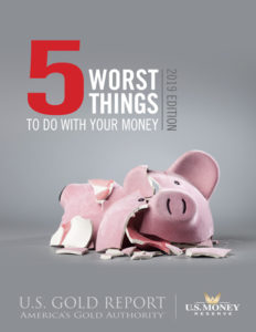 5 worst things to do with your money to avoid a shattered piggy bank on ground