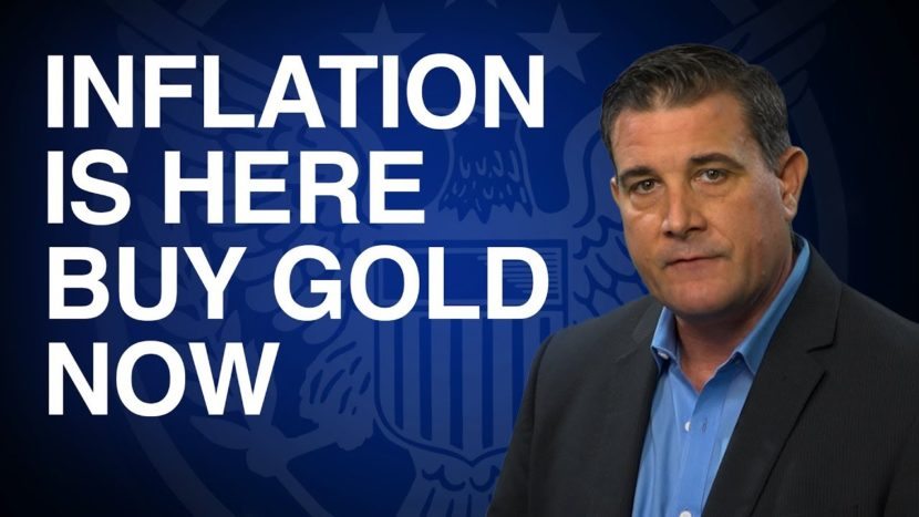 coy wells warning about inflation in market insights presentation in front of blue background