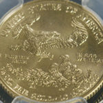 1/4 oz. Gold American Eagle MS-70