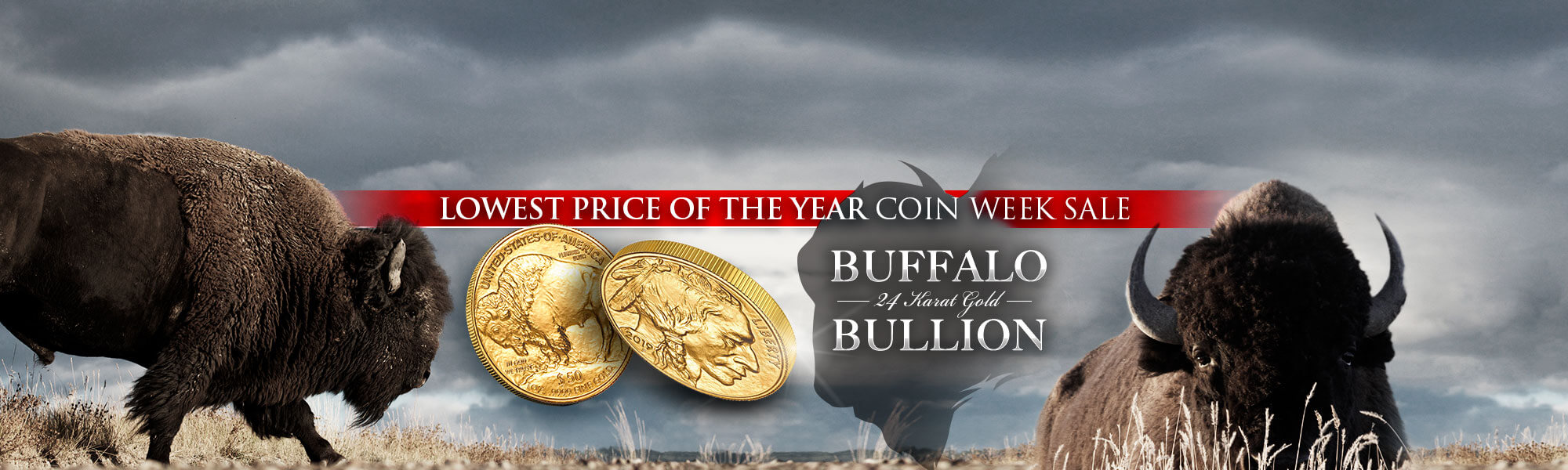 Lowest Price of the Year Coin Week Sale