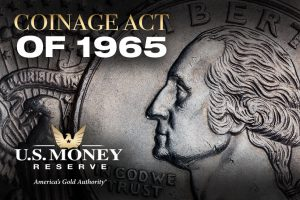 Learn about the Coinage Act of 1965 and how it impacted American coinage and half-dollars