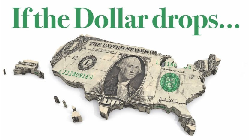 american dollar in the shape of a map outline of the united states