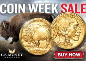 2019 Coin Week Sale at U.S. Money Reserve - Save on the American Gold Buffalo Coin