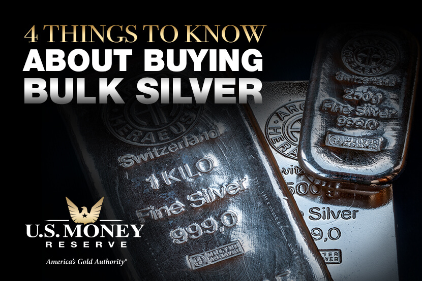 Things to Know About Buying Silver in Bulk, with U.S. Money Reserve