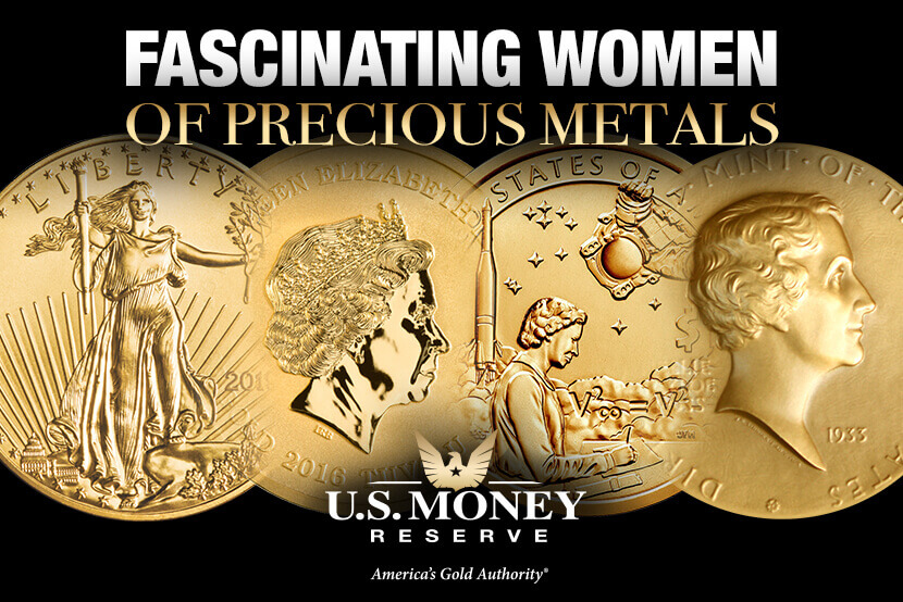 Fascinating Women of Precious Metals