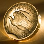 2009 Ultra-High Relief Double Eagle Gold Coin (Reverse)