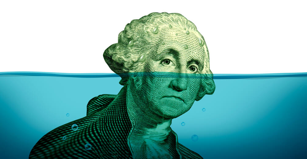George Washington Under Water