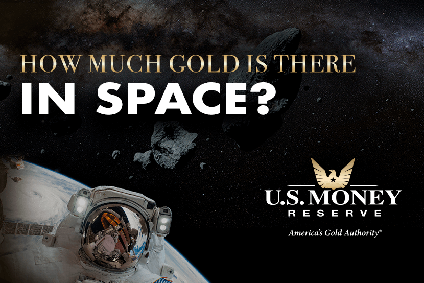 How Much Gold Is There In Space?