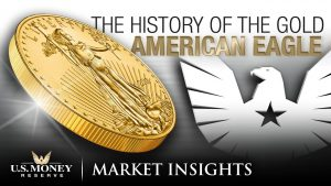 The history of the gold american eagle coin