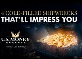 Gold-Filled Shipwrecks That'll Impress You