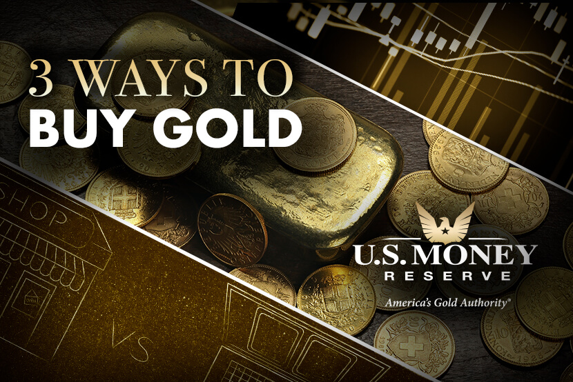 Learn About Three Ways to Buy Gold, with U.S. Money Reserve