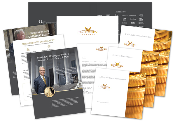 Your Free Gold Information Kit | U S  Money Reserve