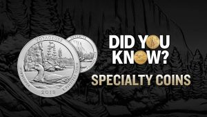 Specialty coins did you know informational video