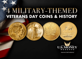 4 Military-Themed Veterans Day Coins and History
