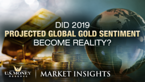 Did 2019 Projected Global Gold Sentiment Become Reality? USMR Market Insights