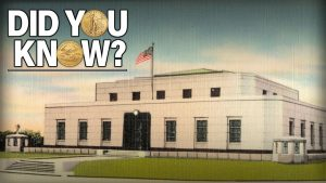 Vintage picture of Fort Knox where U.S. gold is stored