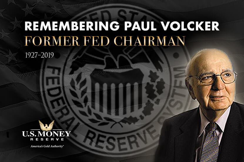 Remembering Paul Volcker Former Fed Chairman 1927-2019