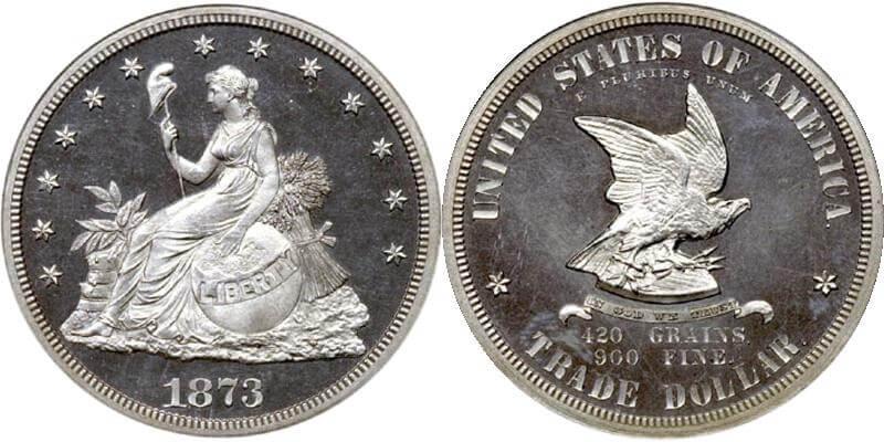 1873 US Trade Dollar