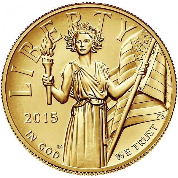 2015 American Liberty High Relief Union Obverse