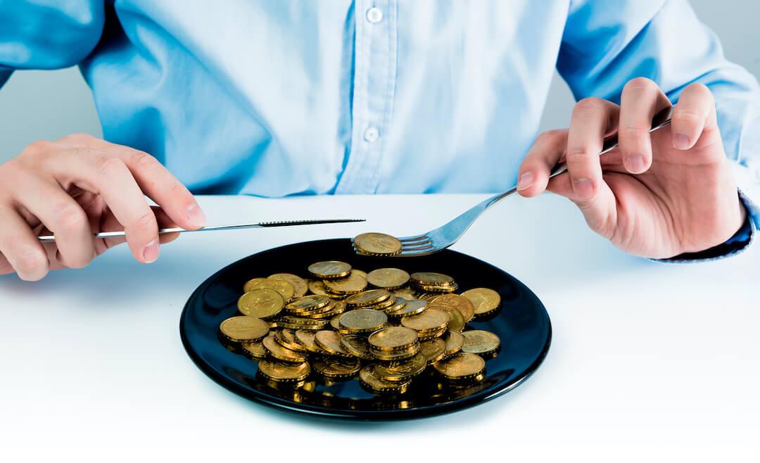 Gold Coins for Dinner
