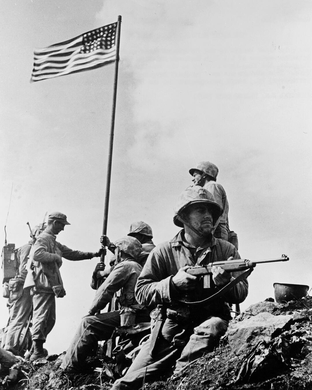 Iwo Jima American Flag