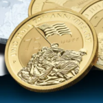 1 oz. Iwo Jima Gold Bullion Coin