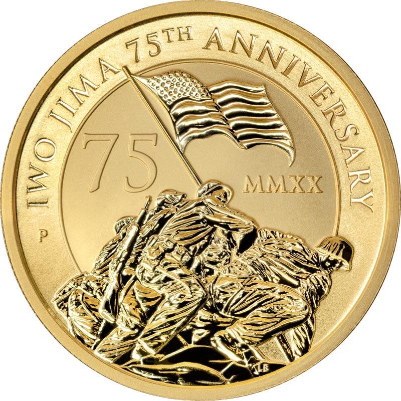 Gold Bullion Iwo Jima Coin