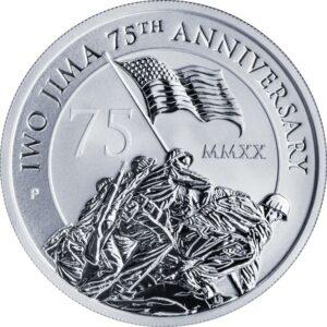 Silver Bullion Iwo Jima Coin