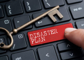 Disaster Plan Button