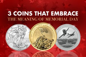 3 Coins That Embrace the Meaning of Memorial Day