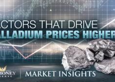 Factors That Drive Palladium Prices Higher