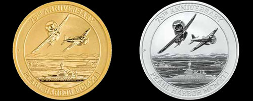 Pearl Harbor Exclusive Coins