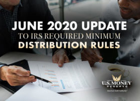 June 2020 Update to IRS Required Minimum Distribution Rules
