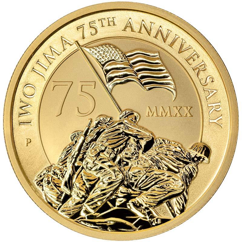 Iwo-Jima-Gold-Bullion-obverse