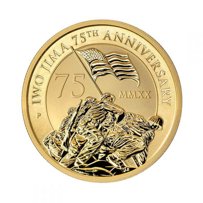 Iwo Jima Gold Bullion Coin