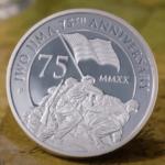 VIDEO- 2 oz. Iwo Jima Silver Piedfort Coin