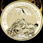 1/10th oz. Io Jima Gold Bullion Coin