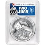Iwo Jima label silver 5oz