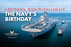 5 Patriotic Ways to Celebrate the Navy's Birthday
