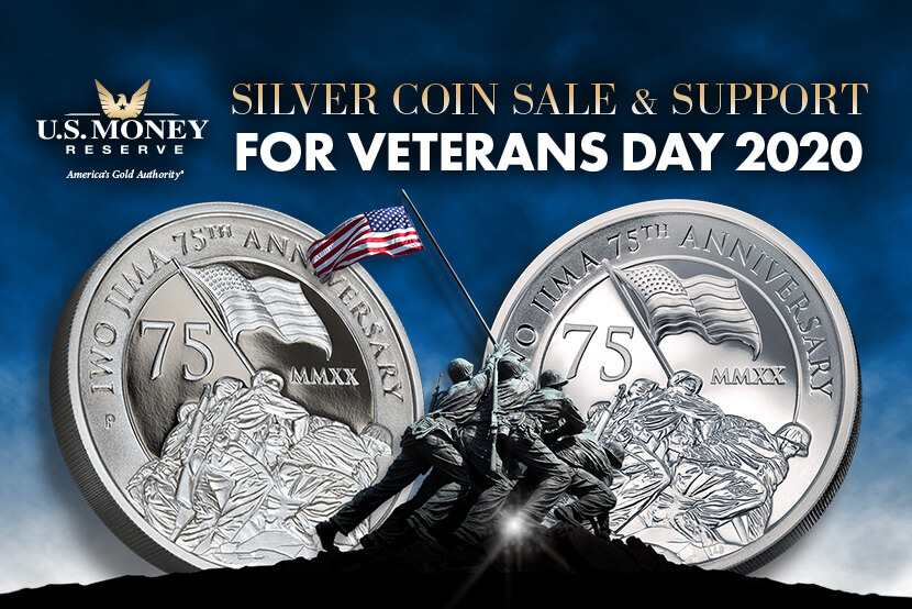Silver Coin Sale & Support for Veterans Day 2020