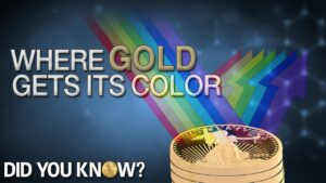where gold gets its color did you know