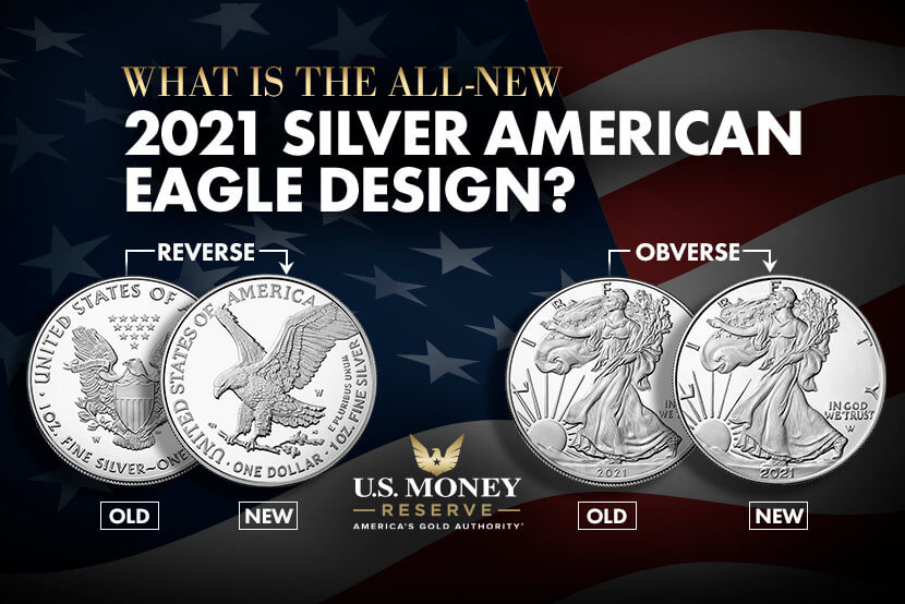 What Is the All-New 2021 Silver American Eagle Design?